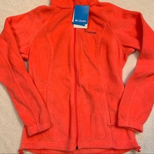 Columbia Coral Fleece Zip Up Jacket